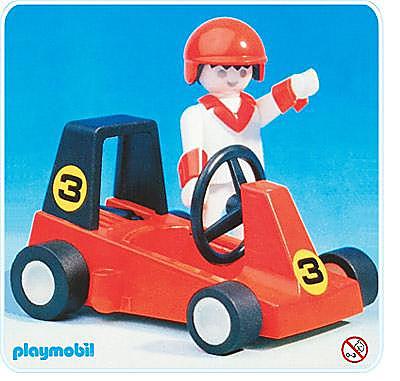 3575-A Pilote de Go Kart detail image 1