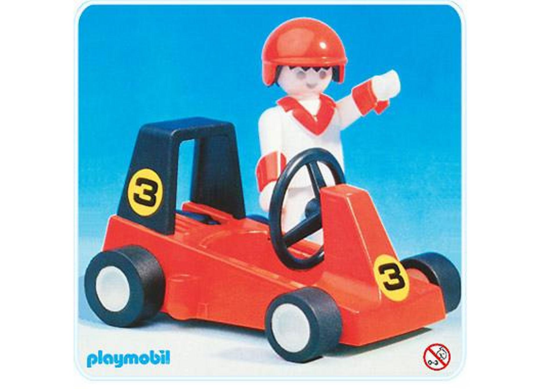 3575-A Pilote de Go Kart zoom image1