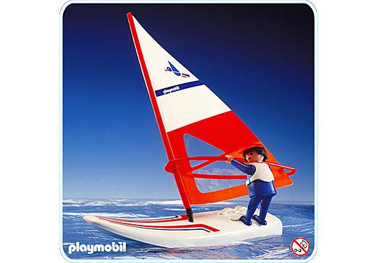 3584-A Planche à voile detail image 1