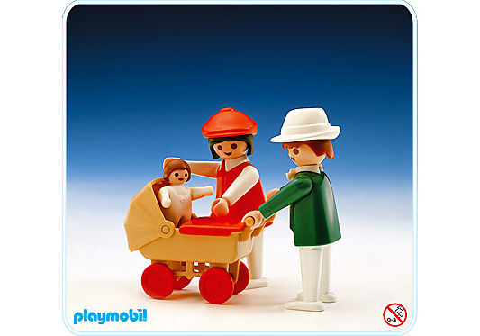 3592-A Eltern/Baby/Kinderwagen detail image 1