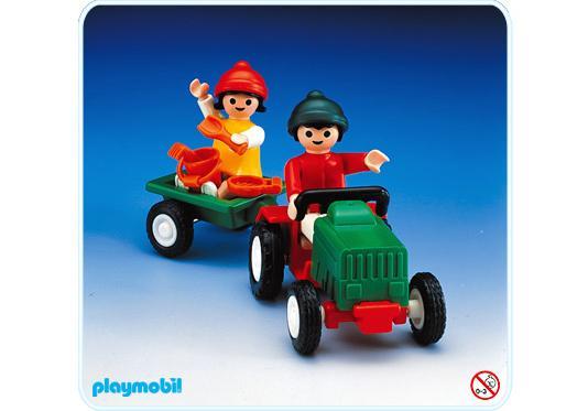 http://media.playmobil.com/i/playmobil/3594-A_product_detail/2 enfants / tracteur / remorque