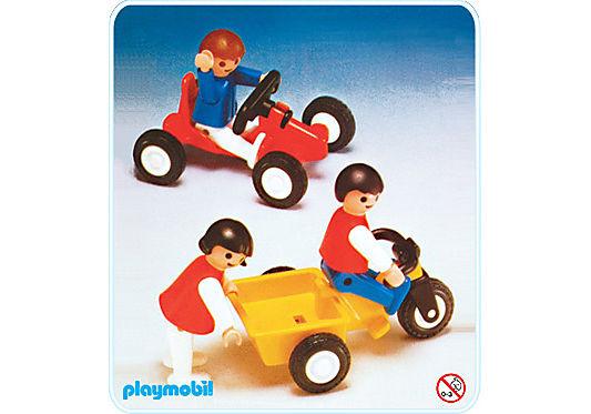3596-A enfants+vehicule detail image 1