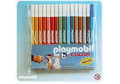 3601-A 16 feutres PLAYMOBIL Color