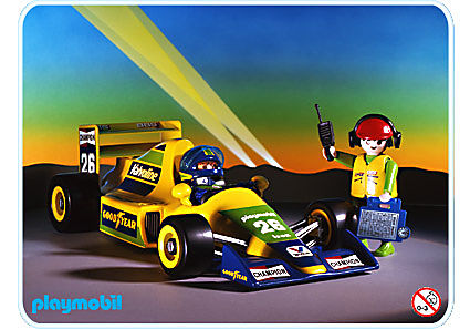 3603-A Voiture Formule 1 detail image 1