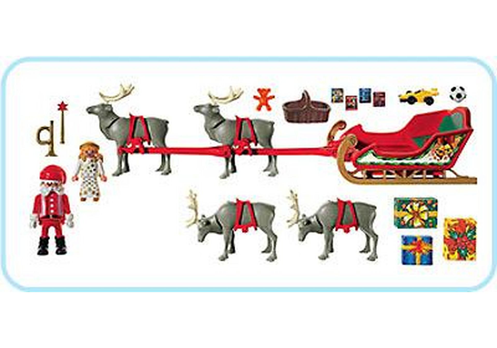 3604-A Rentierschlitten/Santa Claus zoom image2