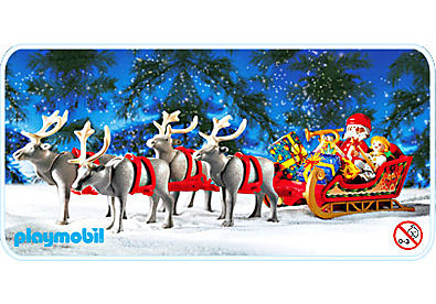 3604-A Rentierschlitten/Santa Claus detail image 1