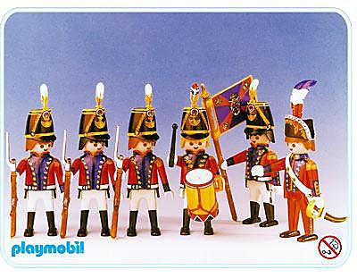 3608-A Infanterie oder Gardesoldaten detail image 1