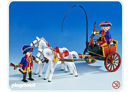 3609-A Kutsche/Pferd/Soldaten detail image 1