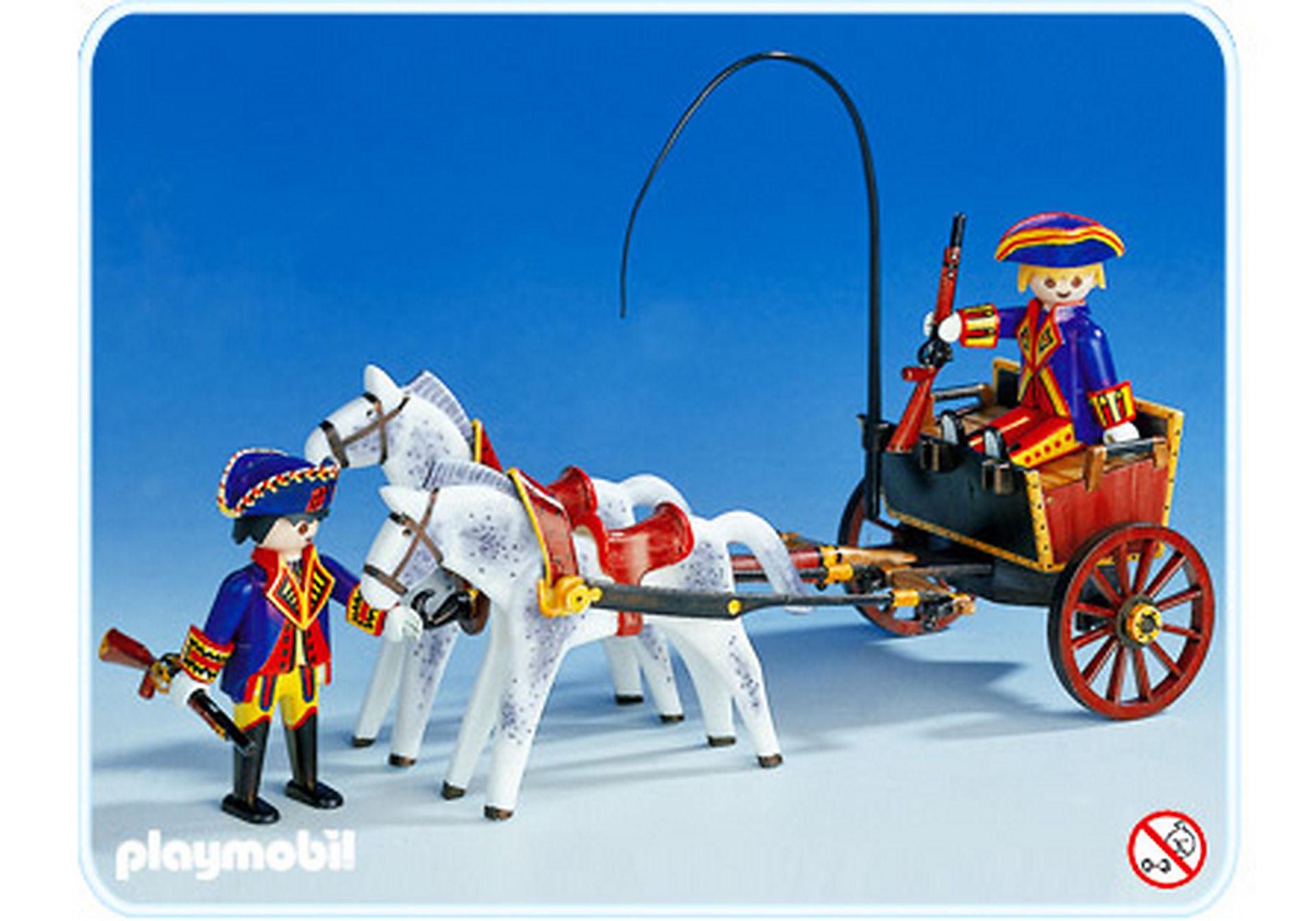 3609-A Kutsche/Pferd/Soldaten zoom image1