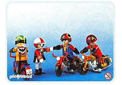 3616-A Motorradfahrer