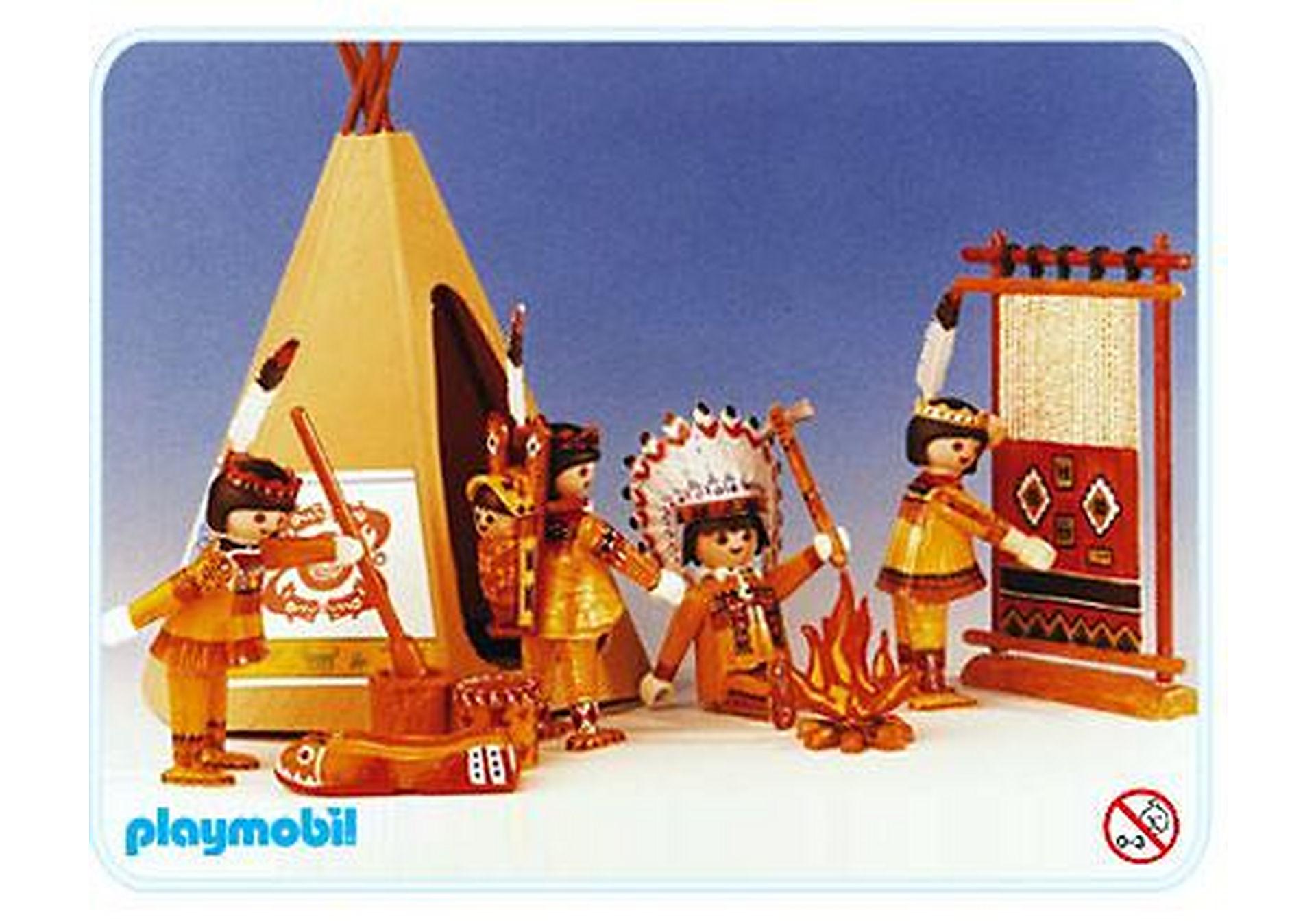 3621-A Indiens avec tente zoom image1