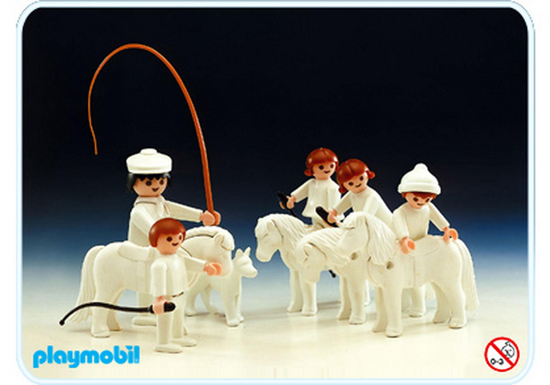 3625-A Enfants et poneys Color zoom image1