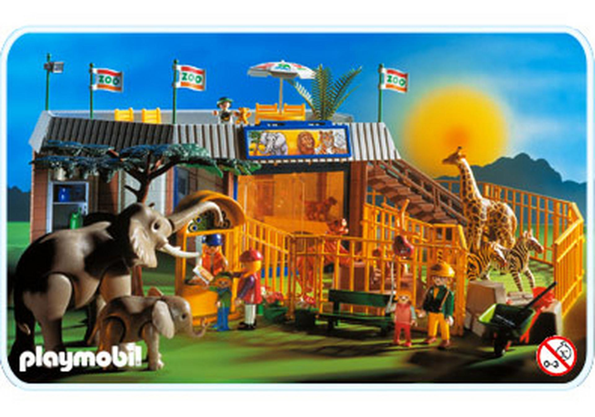 zoo animaux sauvages 3634 a playmobil france. Black Bedroom Furniture Sets. Home Design Ideas