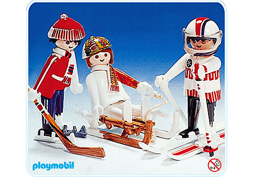 3635-A Wintersport detail image 1