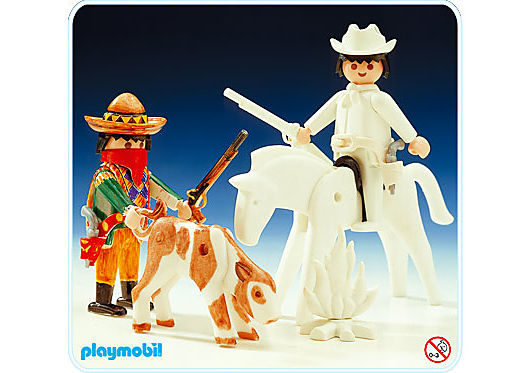 3636-A Cow-boys Color detail image 1