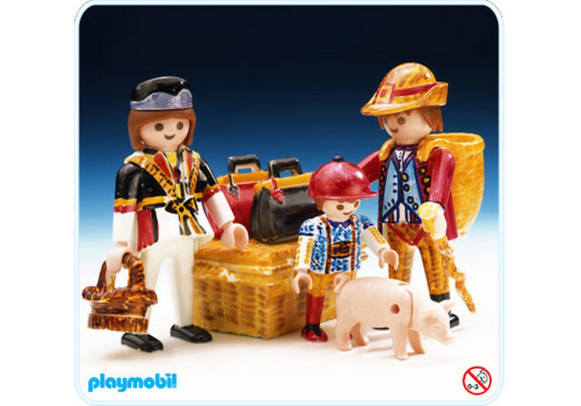 3637-A Voyageurs de train Color zoom image1