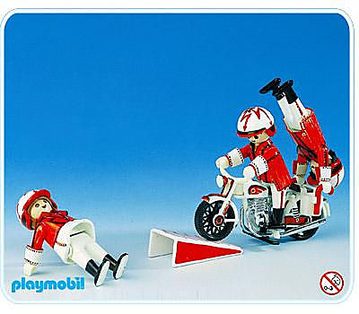 3641-A Artistes à moto detail image 1