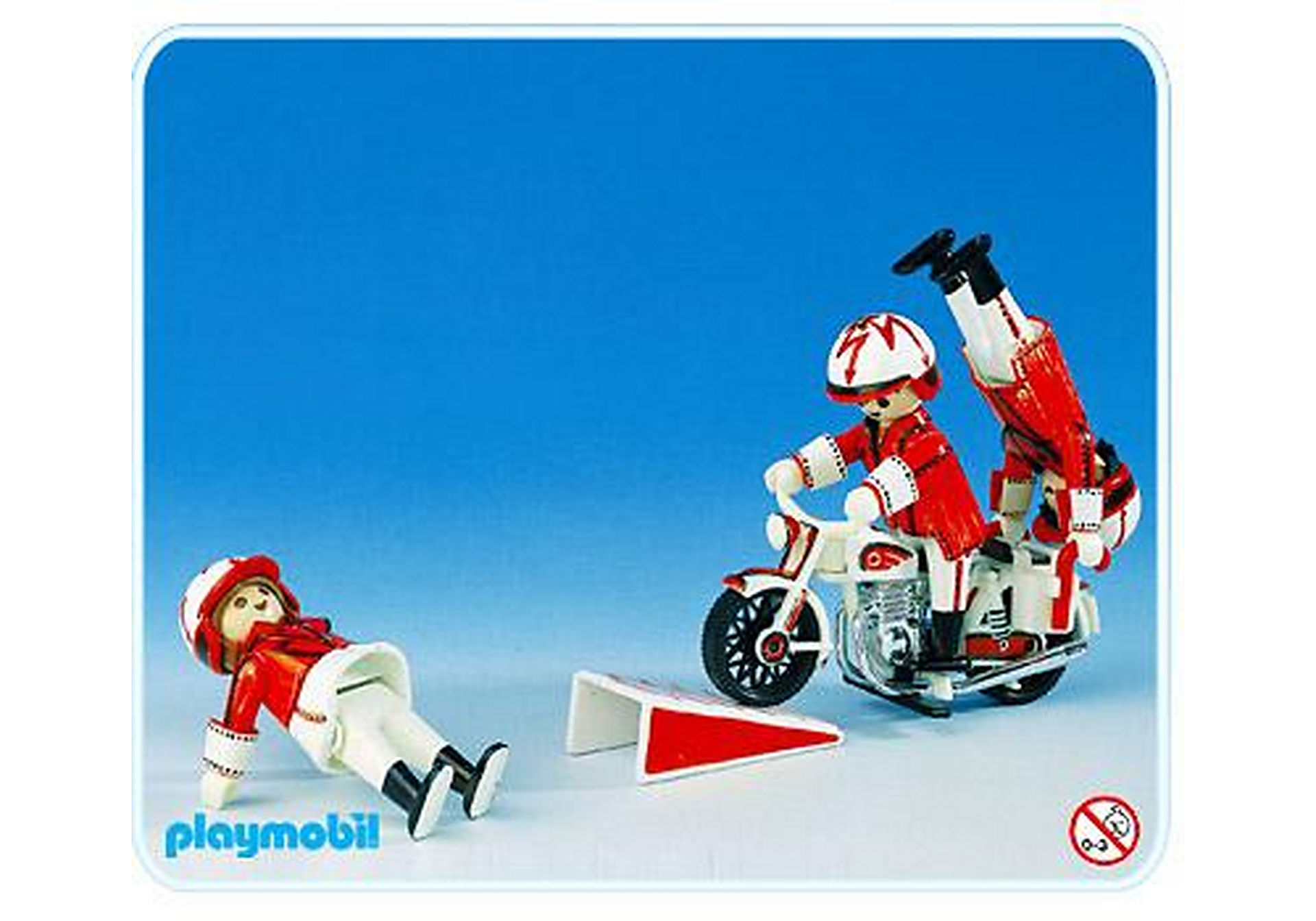 3641-A Artistes à moto zoom image1