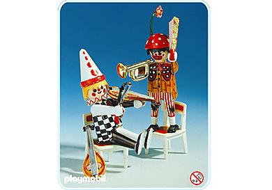3644-A Deux clowns