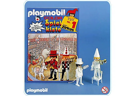 3645-A Clowns/Stuhl detail image 1