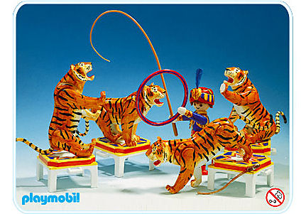 3646-A Tigerdressur detail image 1