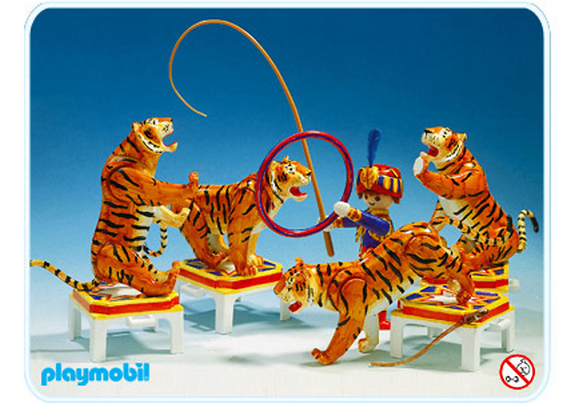 3646-A Tigerdressur zoom image1