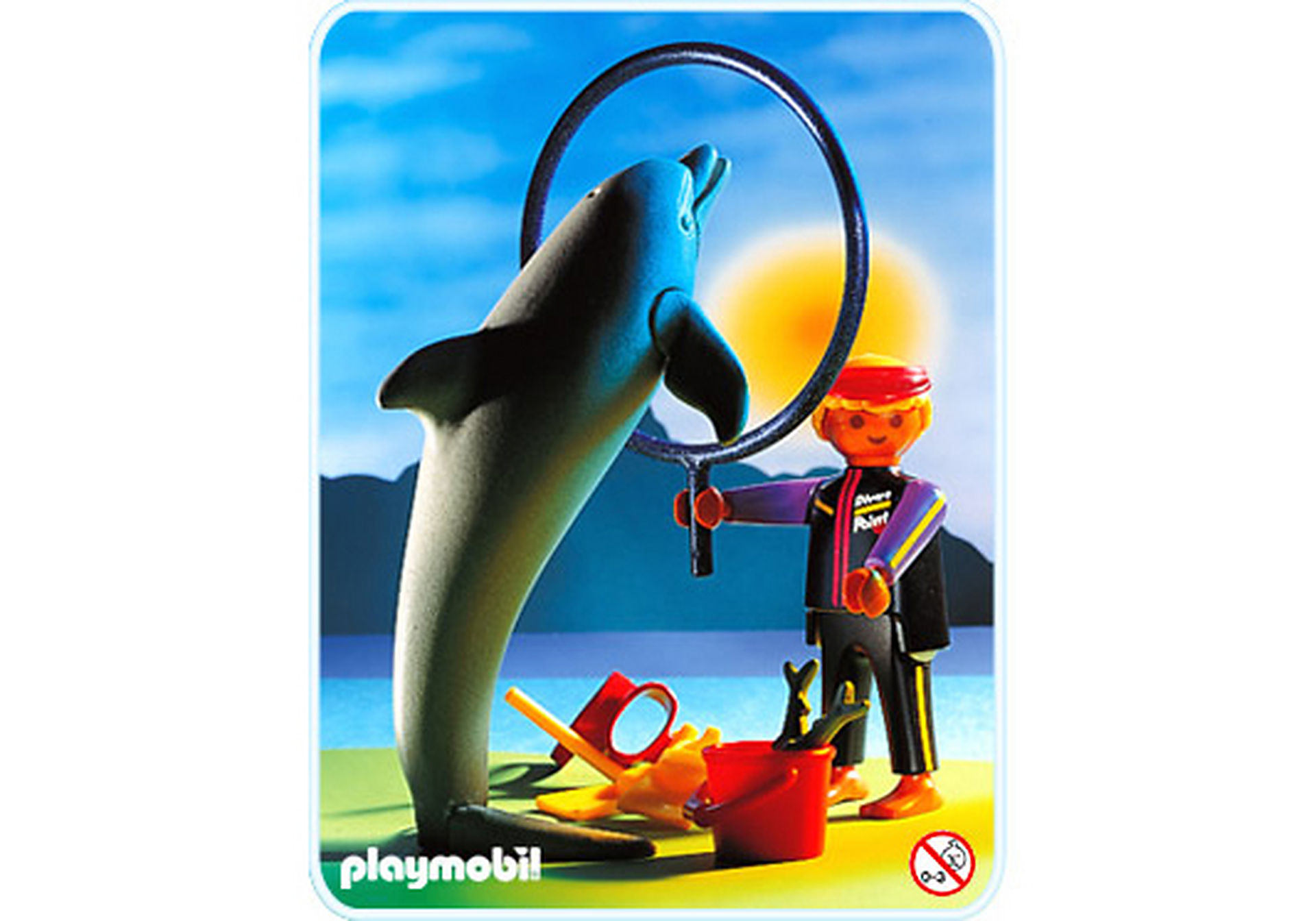 3649-A Delphin/Wärter zoom image1