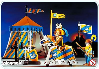 http://media.playmobil.com/i/playmobil/3654-A_product_detail/Chevalier / tente de tournoi