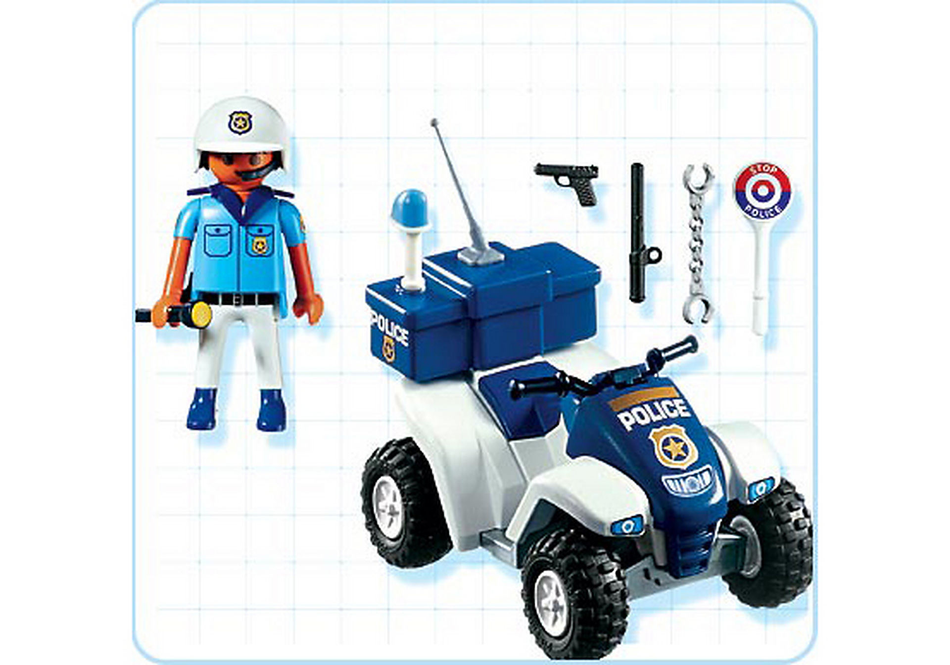 3655-B Police-Quad zoom image2
