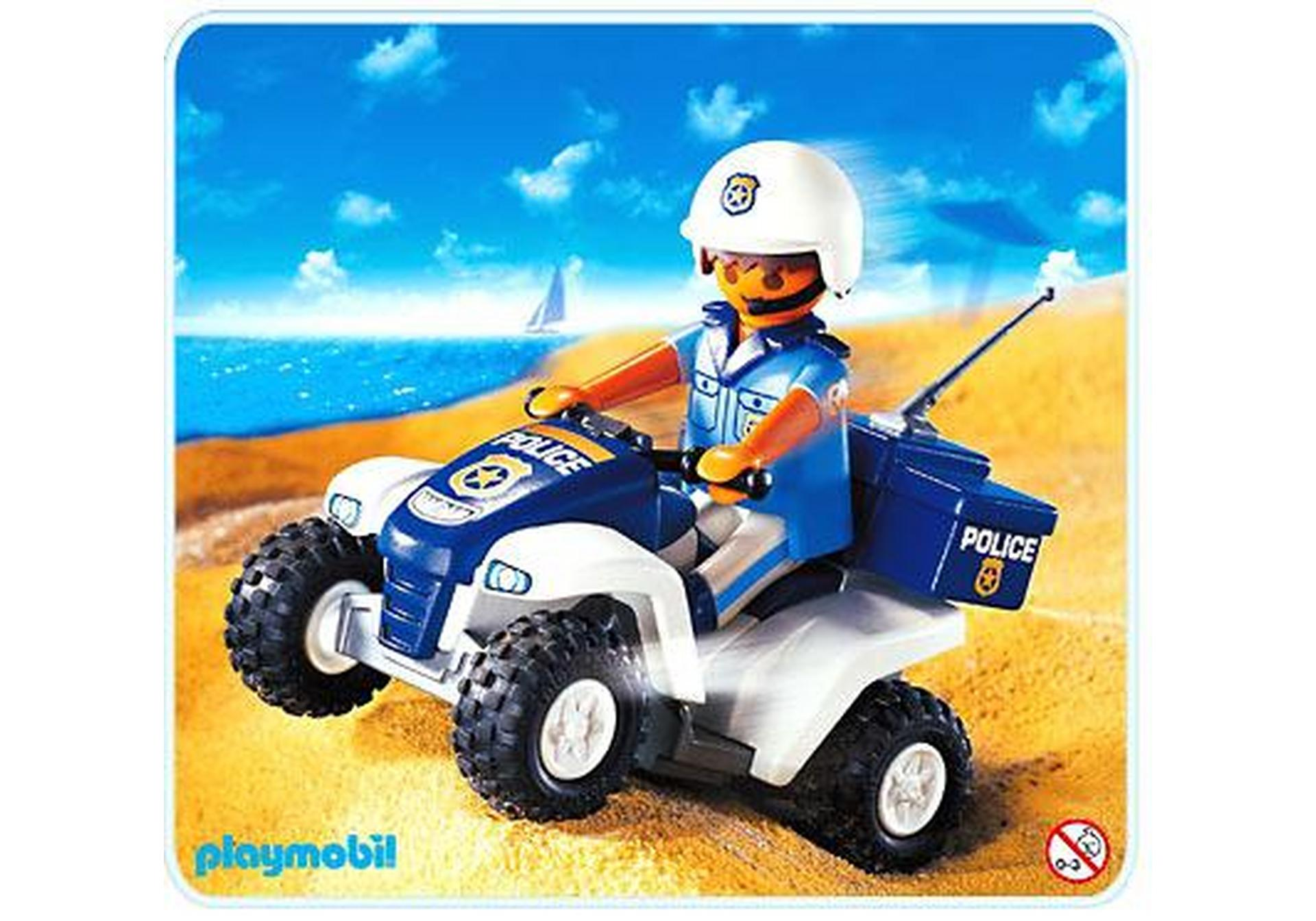 Police quad 3655 b playmobil deutschland - Playmobile policier ...