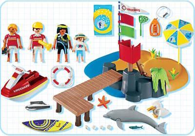 http://media.playmobil.com/i/playmobil/3664-B_product_box_back/Vacanciers / poste de secours / plage