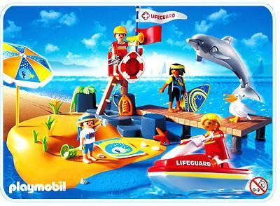 http://media.playmobil.com/i/playmobil/3664-B_product_detail/Vacanciers / poste de secours / plage