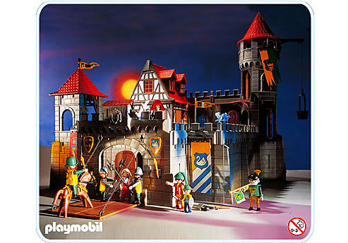 Choteau Fort Pont Levis 3666 A Playmobil France