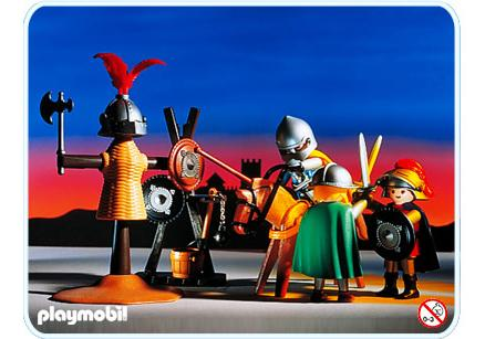 http://media.playmobil.com/i/playmobil/3668-A_product_detail/Chevalier / Entraînement tournoi