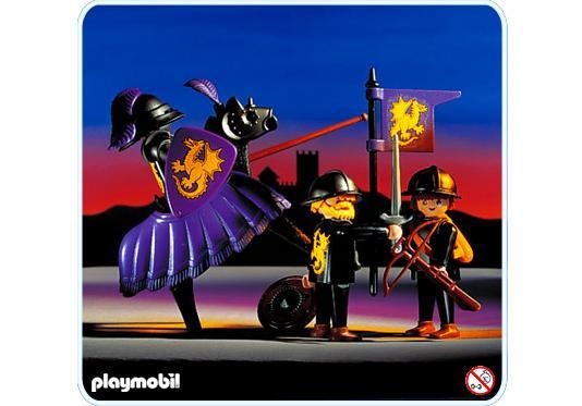 http://media.playmobil.com/i/playmobil/3669-A_product_detail/Chevalier noir / 2 écuyers