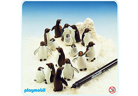 3671-A Pinguine detail image 1