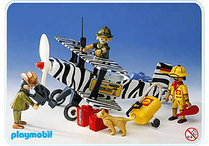 3676-A Safari-Flugzeug detail image 1