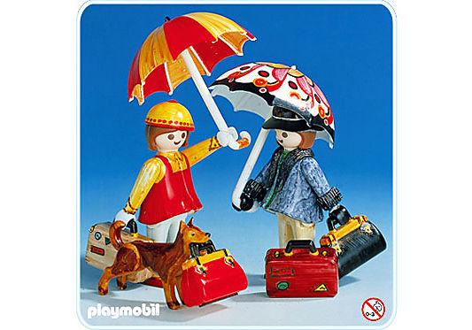 3681-A 2 Reisende/Taschen Color detail image 1