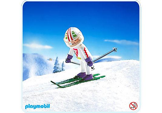 3682-A Skirennfahrer detail image 1