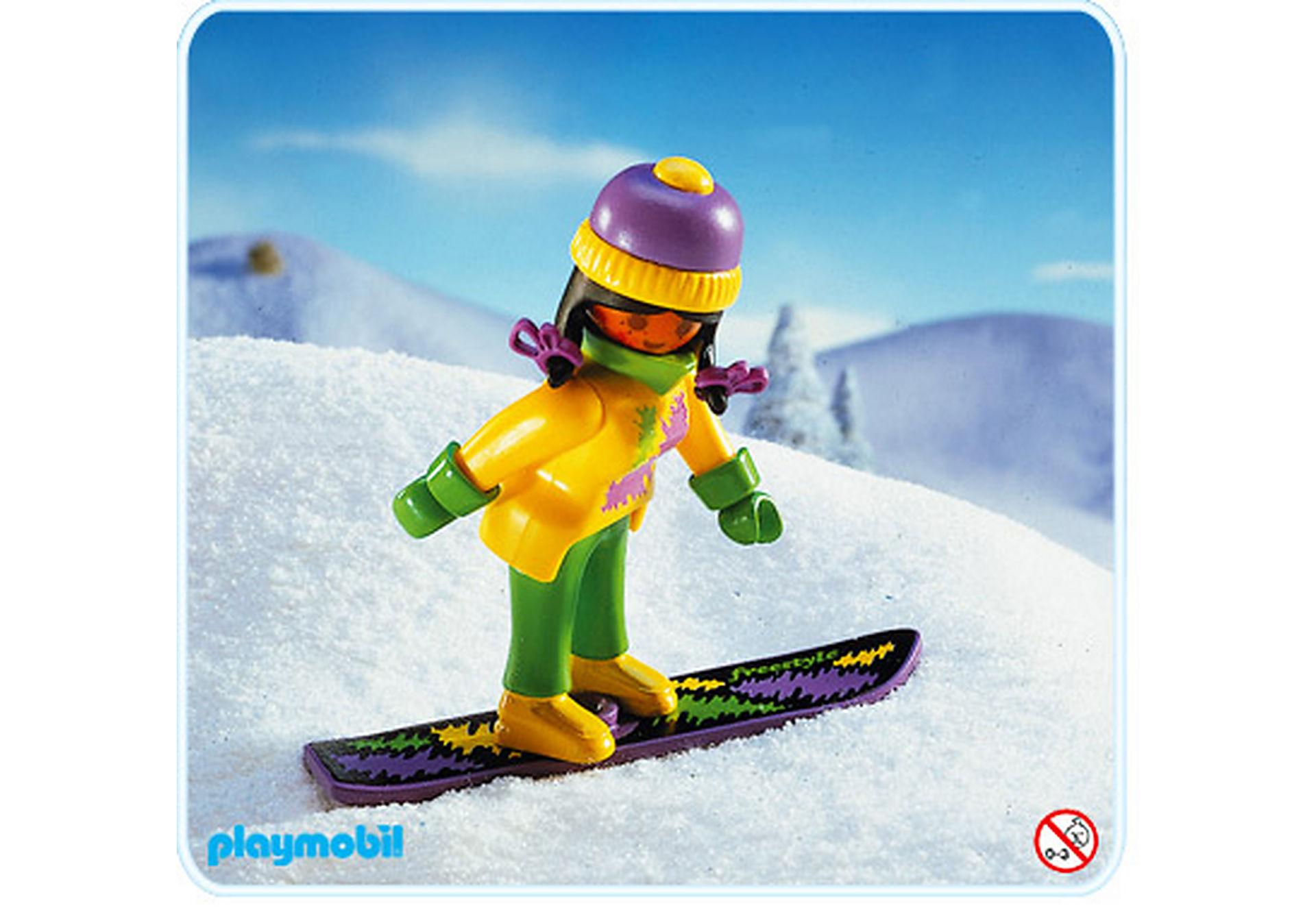 3683-A Snowboard-Fahrerin zoom image1