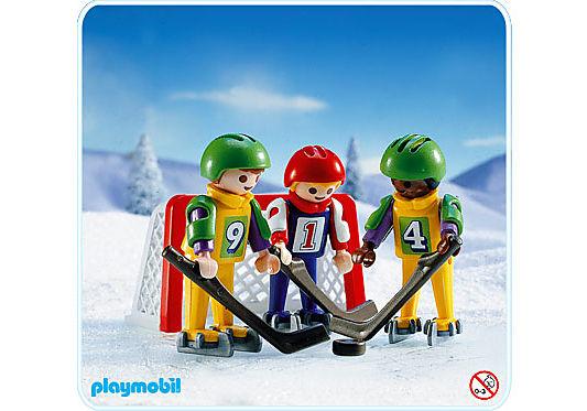 3685-A 3 Eishockeyspieler detail image 1