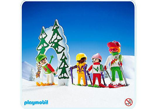 3687-A Ski-Kindergarten detail image 1