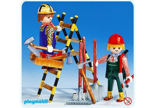 http://media.playmobil.com/i/playmobil/3691-A_product_detail/2 Bauarbeiter mit Leiter