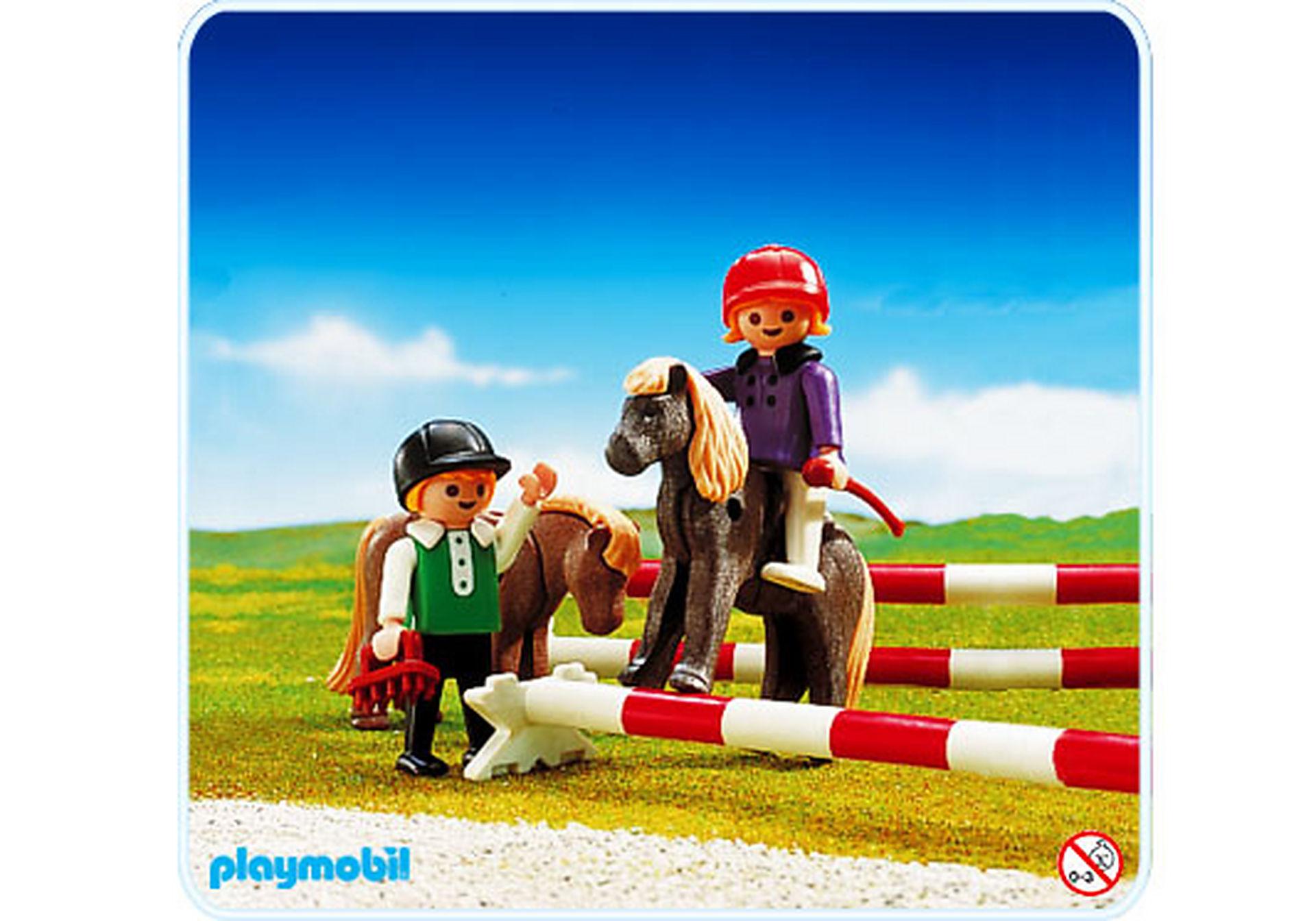 3714-A 2 Kinder/2 Pony zoom image1