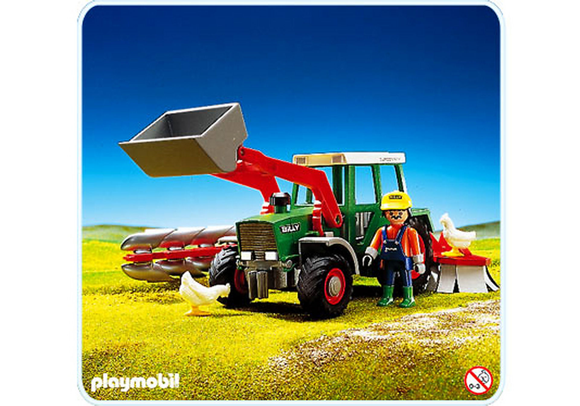 3718-A Tracteur zoom image1