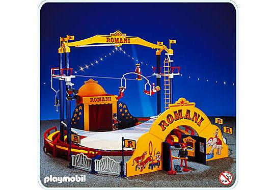 3720-A Piste de cirque detail image 1