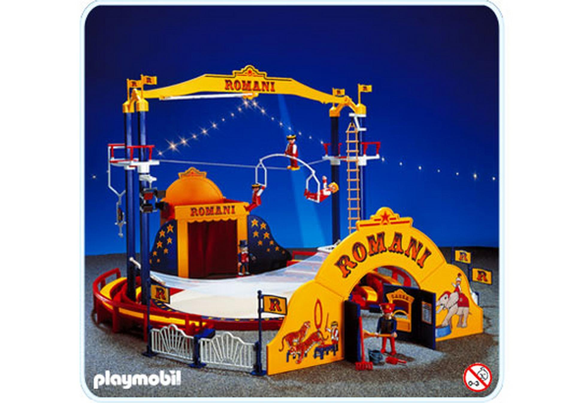Piste de cirque 3720 a playmobil france - Cirque playmobil ...