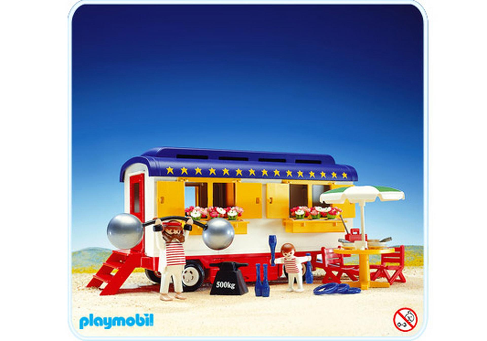 Roulotte de cirque 3728 a playmobil france - Cirque playmobil ...