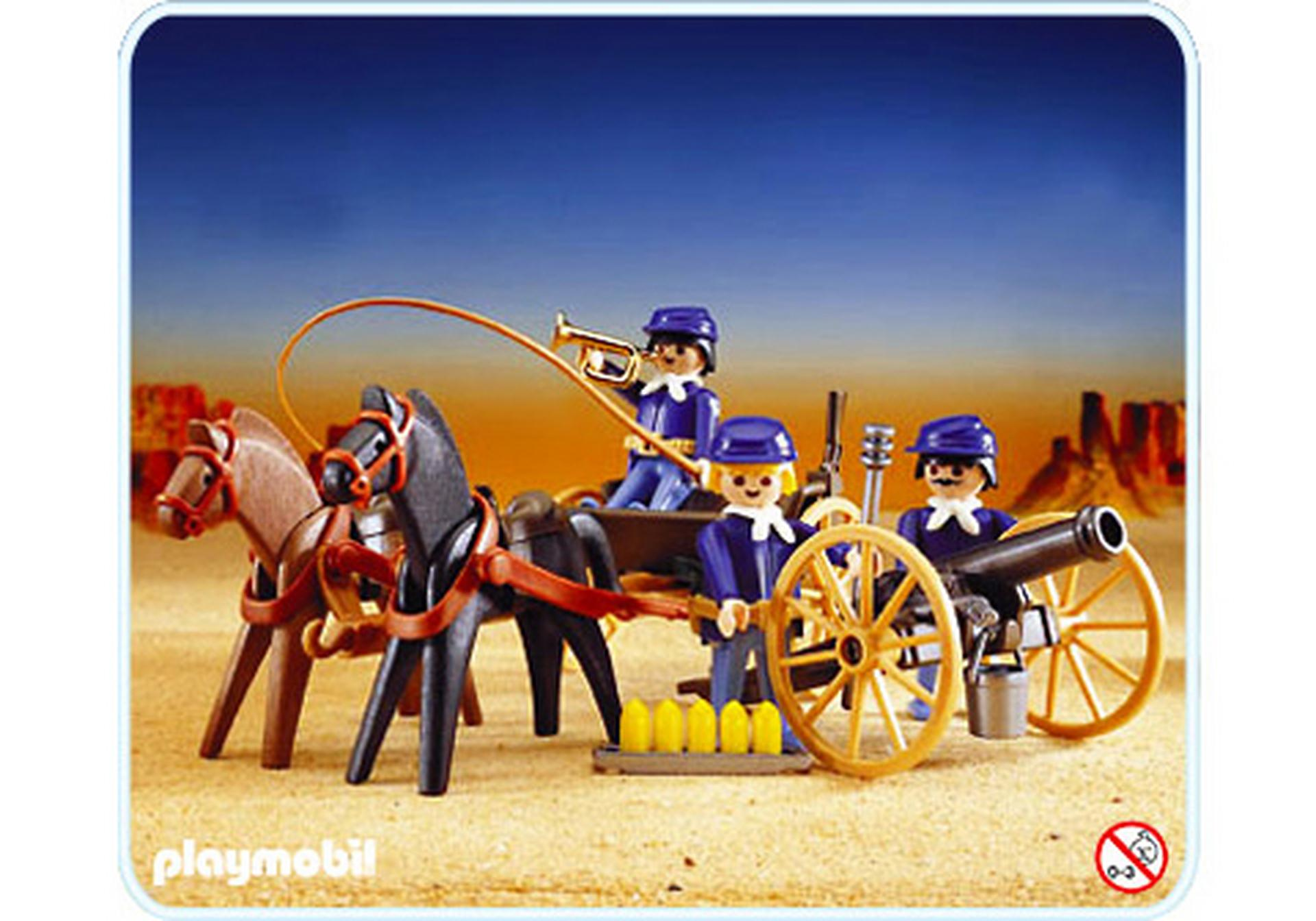 Soldats us attelage canon 3729 a playmobil france for Playmobil buanderie