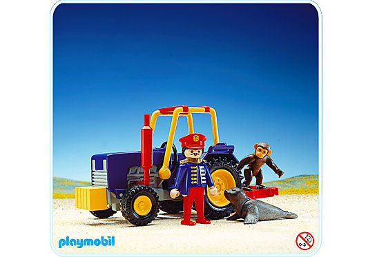 3734-A Tracteur de cirque detail image 1